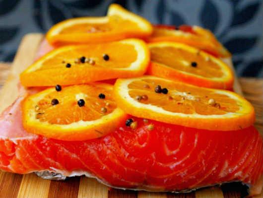 Salmon Marinated - photo