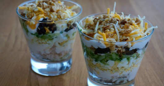 Chicken Salad with Walnuts and Prunes